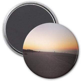 Sunrise on Sullivans Island 7.5 Cm Round Magnet