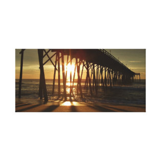 Sunrise on the Atlantic Shore Canvas Print