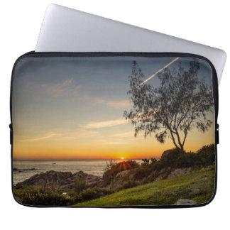 Sunrise On The Beach Armação, Brazil Laptop Sleeve