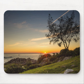 Sunrise On The Beach Armação, Brazil Mouse Mat