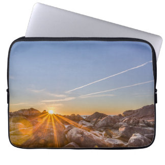 Sunrise On The Beach Armação In Florianópolis Laptop Computer Sleeves