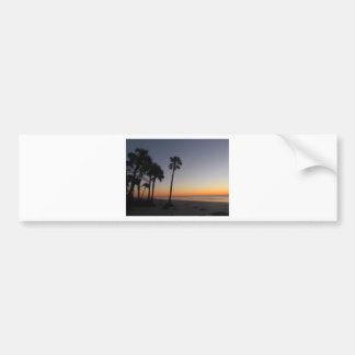 Sunrise on the Beach Bumper Stickers