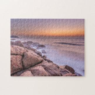 Sunrise On The Beach Guarda Do Embau Jigsaw Puzzle