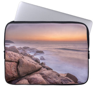 Sunrise On The Beach Guarda Do Embau Laptop Sleeve