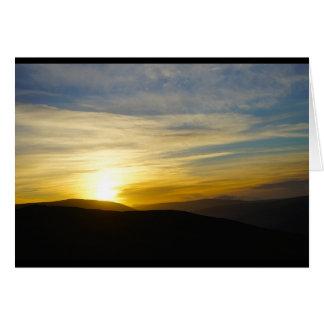 Sunrise on the Fell Card