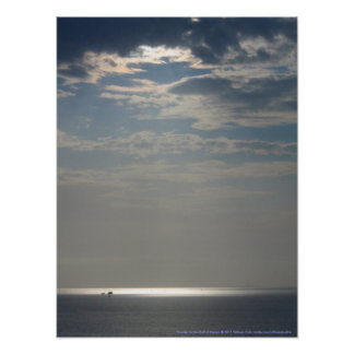 Sunrise on the Gulf of Mexico Posters