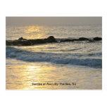 Sunrise on the Jersey Shore Postcard