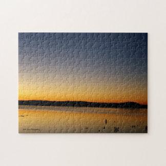 Sunrise on The Lake Jigsaw Puzzle