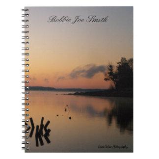 Sunrise On The Lake Notebooks