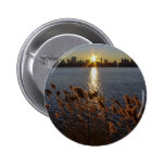 Sunrise Over Central Park, NYC Buttons