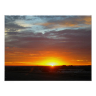 Sunrise over Colorado Poster