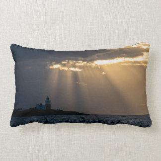 Sunrise over Coquet Island Pillow/Cushion Lumbar Cushion