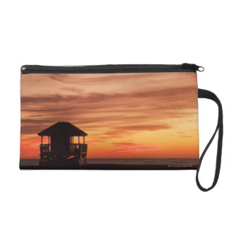 Sunrise over Crandon Beach at Key Biscayne Wristlet
