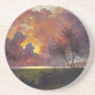 'Sunrise Over Diamond Head' - Coaster