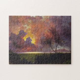 'Sunrise Over Diamond Head' Jigsaw Puzzle