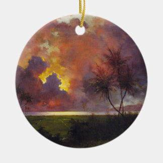 'Sunrise Over Diamond Head' - Ornament