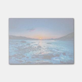 Sunrise Over Horizon At Seashore At Dawn Post-it® Notes