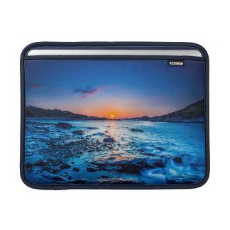 Sunrise Over Horizon At Seashore At Dawn Sleeve For MacBook Air