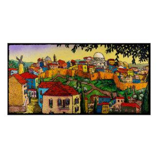 Sunrise Over Jerusalem, Jonathan Kis-Lev Poster