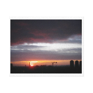 Sunrise over London Gallery Wrapped Canvas
