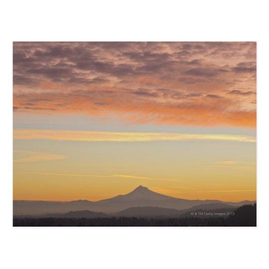 Sunrise Over Mount Hood Postcard