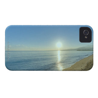 Sunrise over Pristine Tropical Beach iPhone 4 Covers