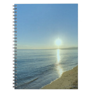 Sunrise over Pristine Tropical Beach Notebook