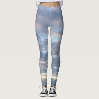 Sunrise over the Atlantic Ocean Leggings