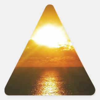 Sunrise over the Atlantic Ocean Stickers