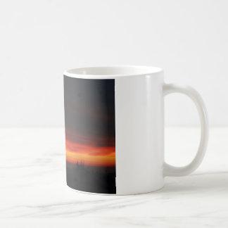 Sunrise over the English countryside Coffee Mug