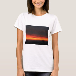 Sunrise over the English countryside T-Shirt
