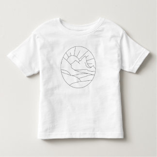 Sunrise Over the Mountain Kid Shirt