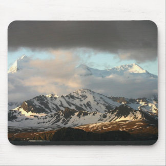 Sunrise over the mountain ranges on South 2 Mouse Mat