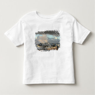 Sunrise over the mountain ranges on South 2 Toddler T-Shirt