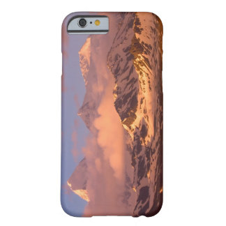Sunrise over the mountain ranges on South Barely There iPhone 6 Case