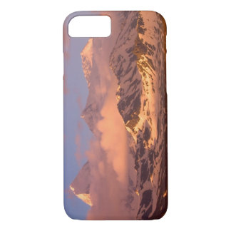 Sunrise over the mountain ranges on South iPhone 8/7 Case