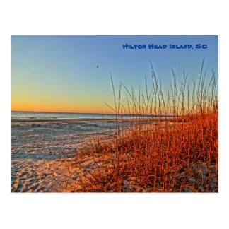 Sunrise Over The Surf! Hilton Head Island, SC Postcard