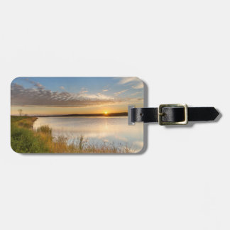 Sunrise Over Wetlands At Arrowwood National Luggage Tag