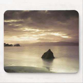 Sunrise over Worser Bay, New Zealand Mouse Mat