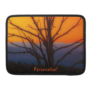 Sunrise Over Yellowstone National Park Design MacBook Pro Sleeves