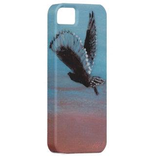Sunrise Owl Art for mobiles iPhone 5 Case