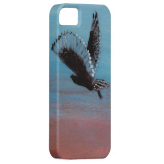 Sunrise Owl Art for mobiles iPhone 5 Covers