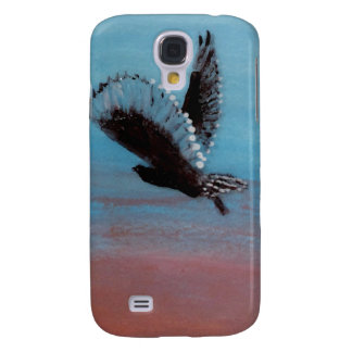 Sunrise Owl Art Galaxy S4 Case