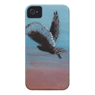 Sunrise Owl Art iPhone 4 Cover