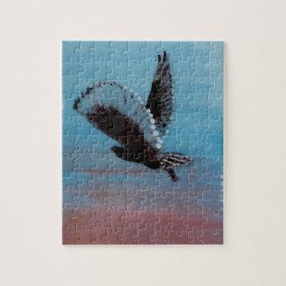Sunrise Owl Art Jigsaw Puzzle