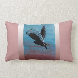 Sunrise Owl Art Lumbar Cushion