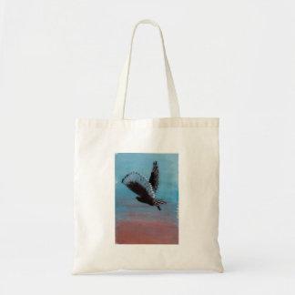 Sunrise Owl Art Tote Bag