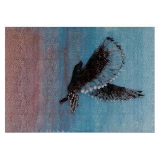 Sunrise Owl Bird Art Cutting Board