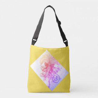 Sunrise Rainbow Ombre' Tropics Tote Messenger Bag