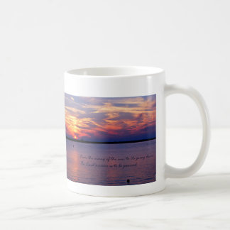 Sunrise Scripture Mug